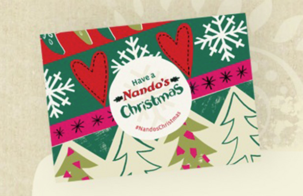 Nando's Christmas Gift Card