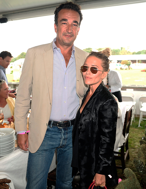 Olivier Sarkozy and Mary Kate Olsen 39th Annual Hampton Classic Horseshow Grand Prix