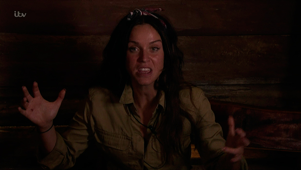 Vicky Pattison talking about the storm on 'I'm a Celebrity... Get Me Out of Here!' Broadcast on ITV1 HD.