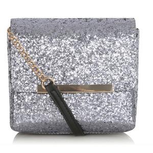 George at ASDA Boxy clutch bag in black, £10 9th Debember 2015