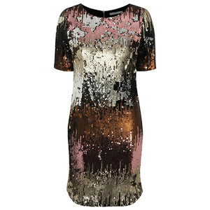 Ombre Sequin Shift Dress George at ASDA £25, 10th December 2015