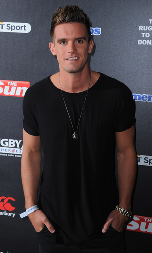 Gary Beadle attends the after party for Rugby Aid 2015 at Twickenham Stadium September 4, 2015