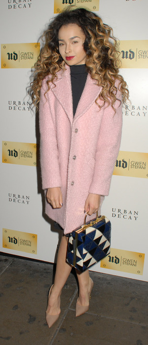 Ella Eyre at the Urban Decay X Gwen Stefani dinner in London, 9th December 2015