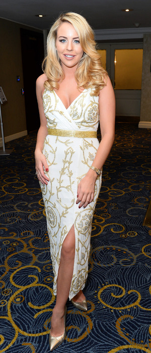 TOWIE's Lydia Rose Bright attends the Guide Dogs Annual Awards 2015 in London, 10th December 2015