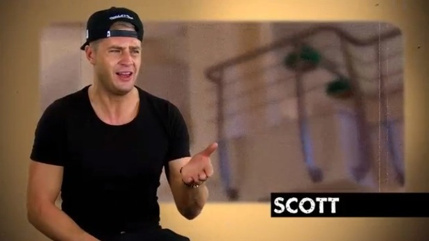 Chloe Ferry tells Scott Timlin she loves him on Geordie Shore preview, Episode 9, Series 11, 10 December 2015