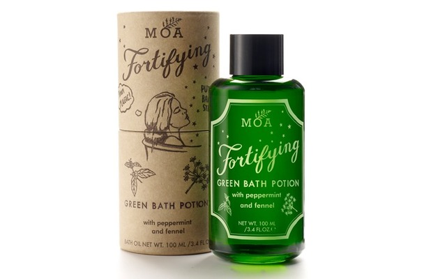 MOA Fortifying Green Bath Potion £27.50, 10th December 2015