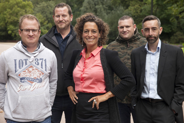 Alex Polizzi: Hire Our Heroes, Fri 11 Dec