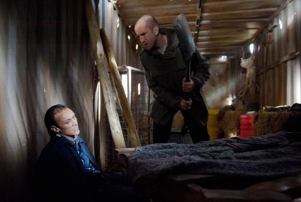 Emmerdale, Sam has Jai locked up, Thu 10 Dec