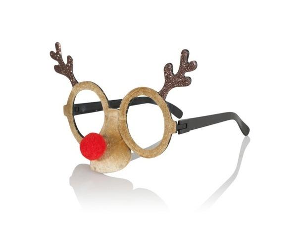 George at ASDA Novelty Reindeer Glasses £4, 8th December 2015