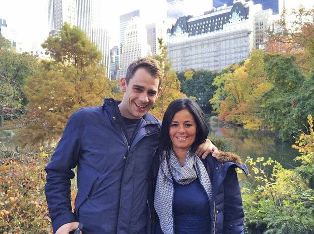 Lisa Reid and James in Central Park, New York