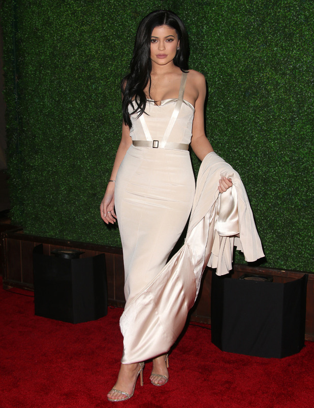 Keeping up with The Kardashians star Kylie Jenner attends the: Rihanna and The Clara Lionel Foundation Host 2nd Annual Diamond Ball in Santa Monica, America 11th December 2015