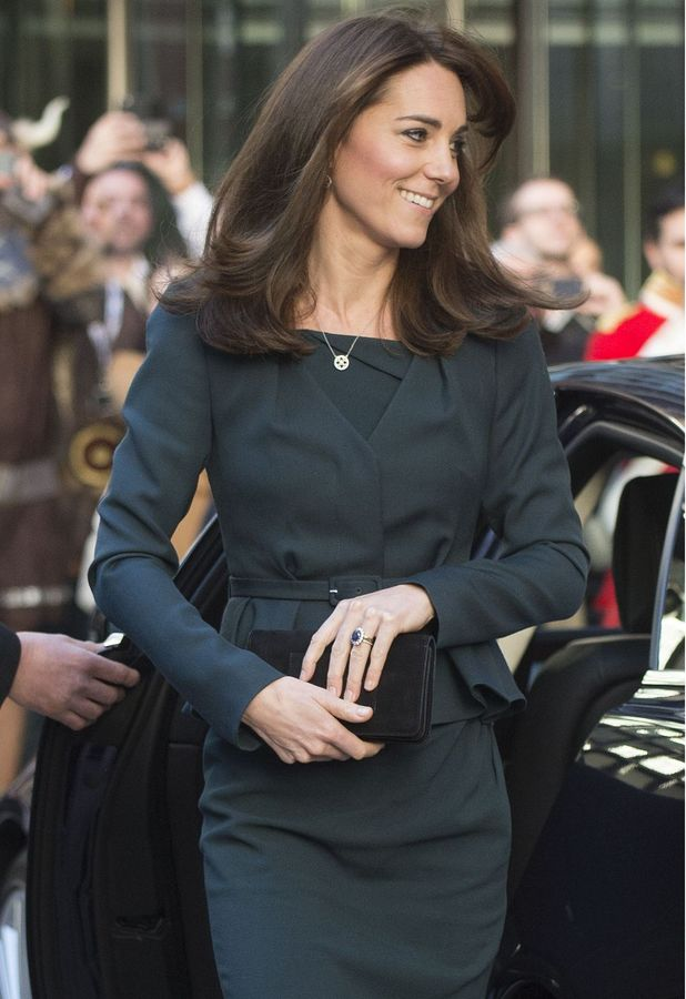 The Duchess of Cambridge Kate Middleton attends ICAP's 23rd Annual Charity Day, London, 9th December 2015