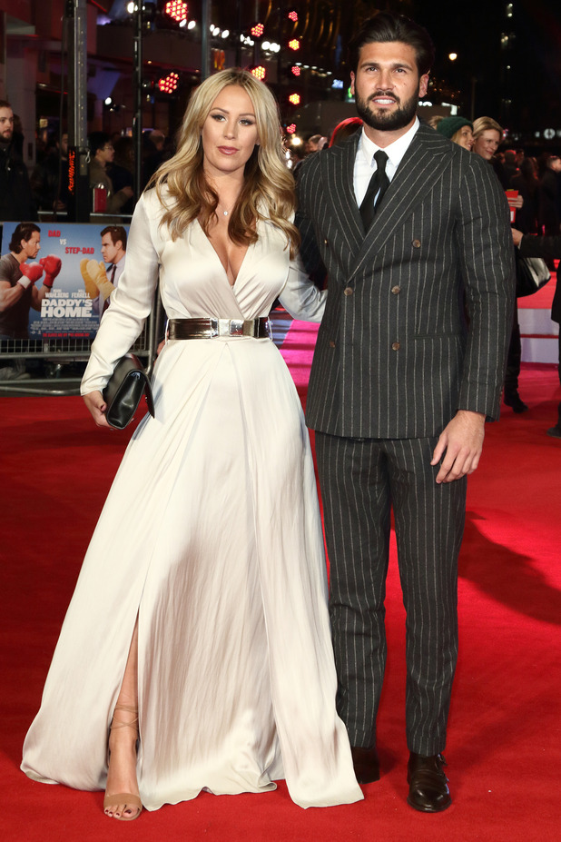 Kate Wright and Dan Edgar at the film premiere of Daddy's Home held at Vue West End - 9 December 2015.