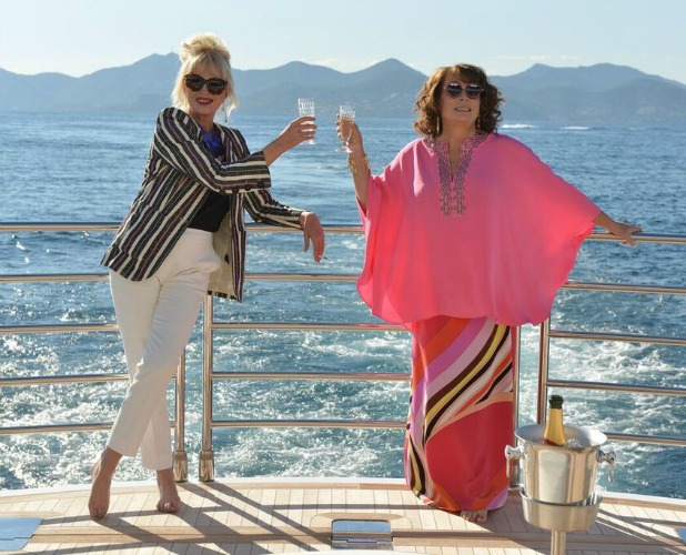 Absolutely Fabulous The Movie: film still