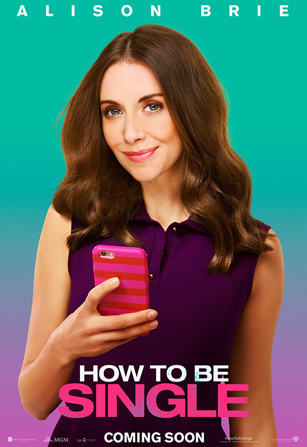How To Be Single Movie Character Poster Alison Brie