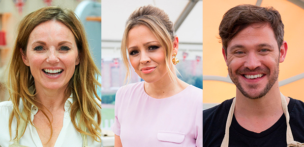 The Great Sport Relief Bake Off 2016 Geri Horner, Will Young and Kimberley Walsh