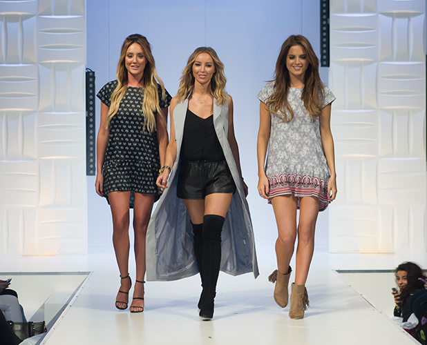 The Clothes Show Live 2015 at the NEC Arena- Day 3 Lauren Pope, Charlotte Crosby and Binky