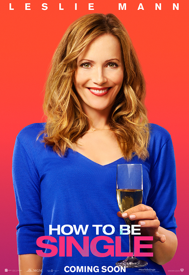 How To Be Single Movie Character Poster Leslie Mann