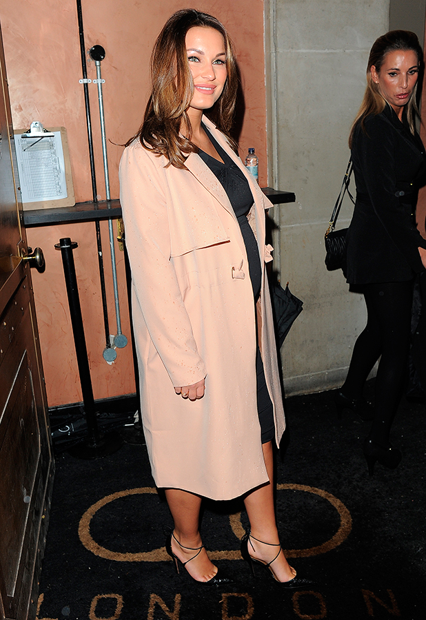 Celebrities attend In The Style - Billie Faiers launch party at TAPE London. London. UK Sam Faiers