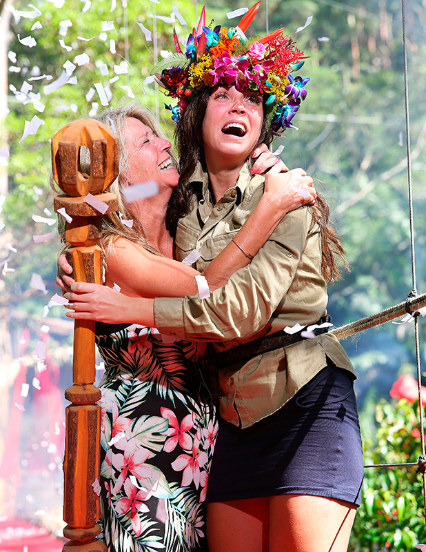 'I'm A Celebrity...Get Me Out Of Here!' TV Show, Australia - 06 Dec 2015 Vicky Pattison and mum Carol Pattison