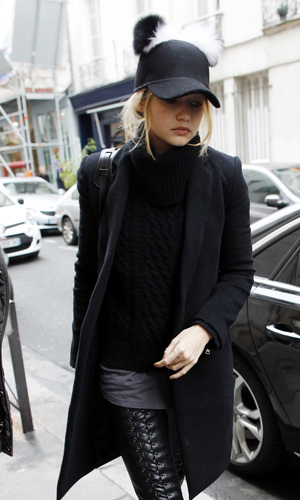 Gigi Hadid out and about in Paris, 16th December 2015