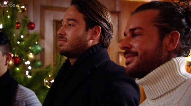 James Lock and Pete Wicks aka The Mitchell Brothers, TOWIE Essexmas 16 December