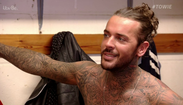 The Only Way Is Essex - Pete Wicks - 12 October 2015.