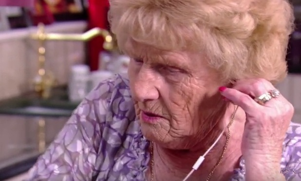 Nanny Pat rapping on TOWIE