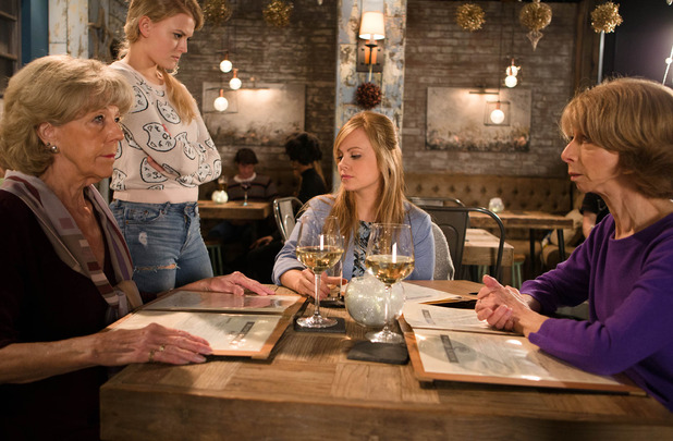Corrie, Bethany reveals Sarah's pregnancy, Wed 16 Dec