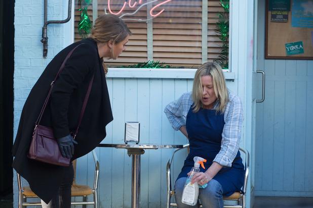 EastEnders, Jane in pain, Mon 21 Dec