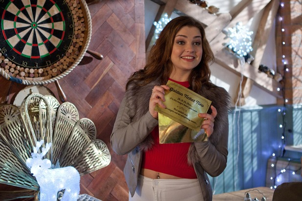 Hollyoaks, Celine's Christmas surprise, Fri 18 Dec