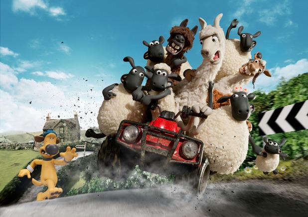 Shaun The Sheep: The Farmers Llamas, Sat 26 Dec