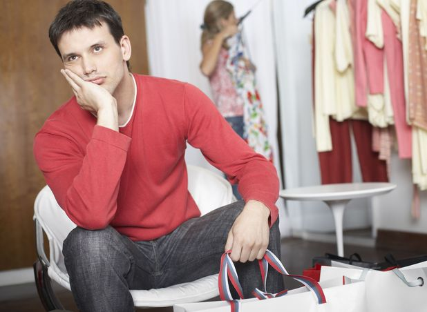Man creche opens in Carmarthen for men who hate shopping