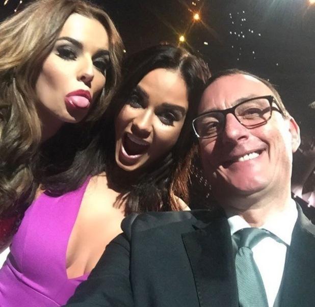 Cheryl Fernandez-Versini and Vicky Pattison selfie, The X Factor final 13 December