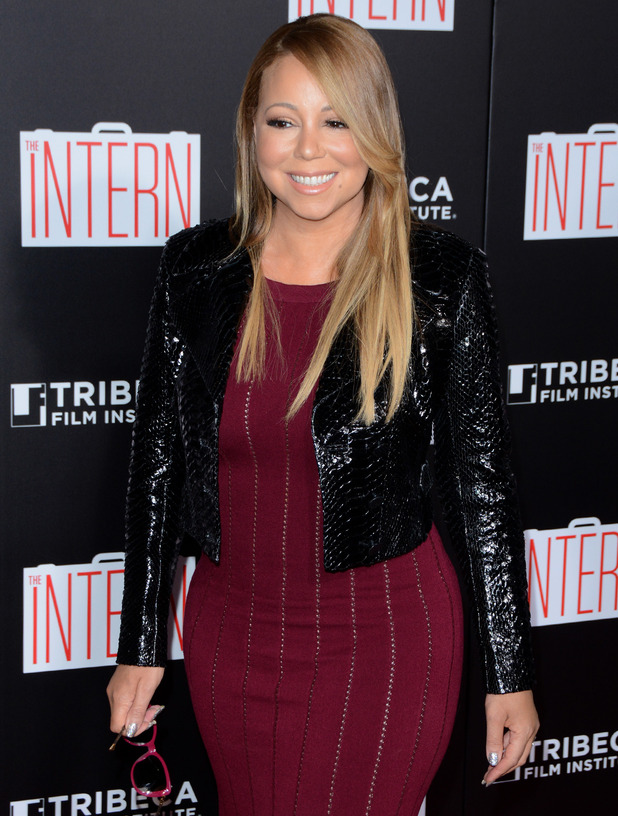 Mariah Carey at The Intern New York Premiere - Red Carpet Arrivals - 21 September 2015.