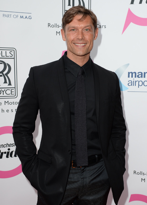 John Partridge at the Manchester Pride Spring Benefit - 14 May 2015.