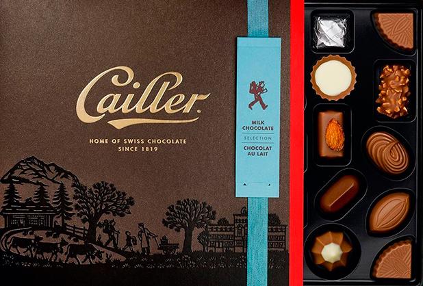 Callier Premium Swiss Chocolate, 2015
