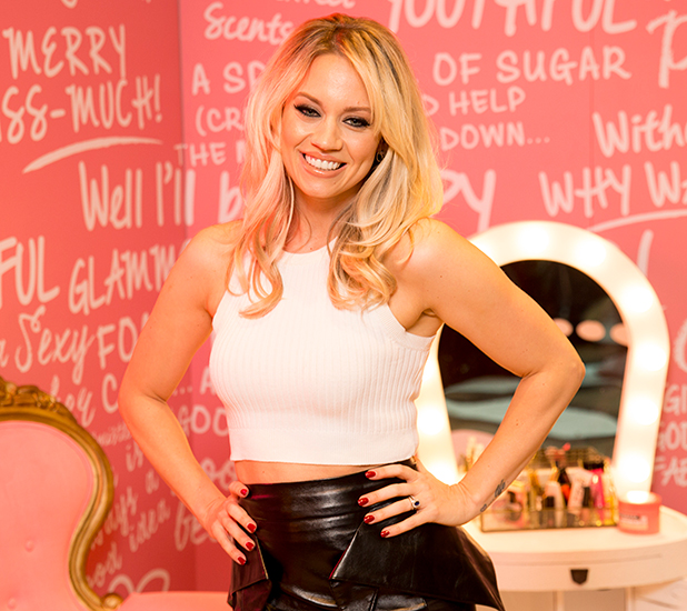 Soap & Glory photocall with Kimberly Wyatt, Trafford Centre, Manchester, Britain - 13 Dec 2015