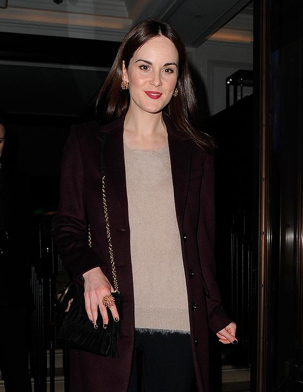 Celebrities attend The Burberry Film Festival - VIP premiere. London. UK Michelle Dockery