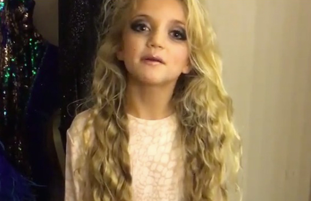 Katie Price's daughter Princess sends a message to make-up critics 14 Dec 2015