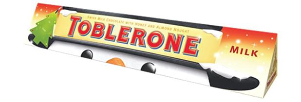 Toblerone Christmas bar