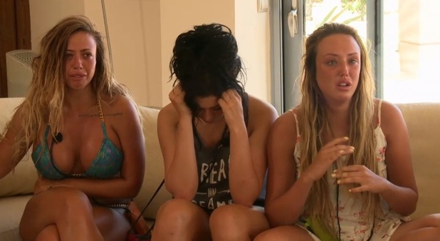 Holly Hagan, Charlotte Crosby and Chloe Etherington react to news Marnie Simpson is leaving, Geordie Shore 22 December