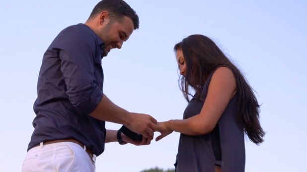 Ricky Rayment proposes to Marnie Simpson, Geordie Shore 22 December