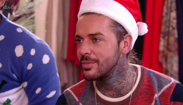 The Only Way Essex - Pete Wicks- Christmas Special. Broadcast on ITVBe. 21 December 2015.