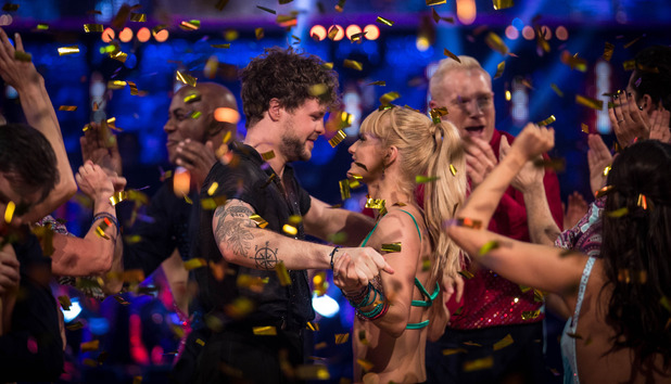 Aliona Vilani, Jay McGuiness win Strictly Come Dancing 2015. 19 December 2015.