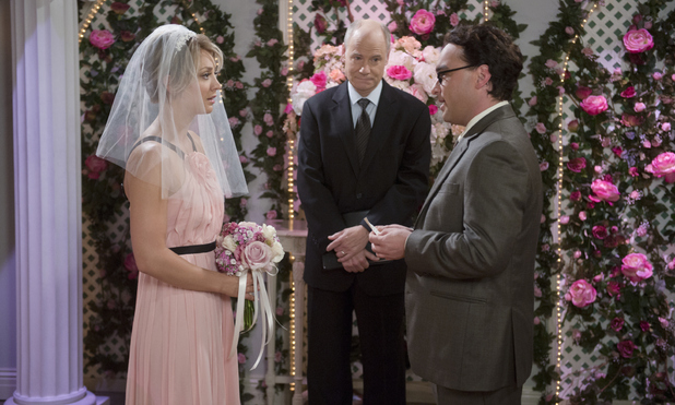 Penny and Leonard get married, The Big Bang Theory 21 September