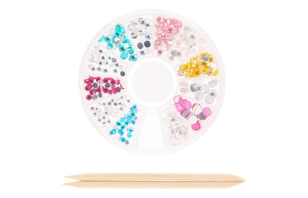 Claire's Multi-Coloured nail art gems, £3.50, 22nd December 2015