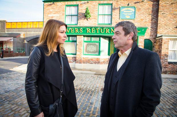 Corrie, Johnny tells Carla, Mon 28 Dec