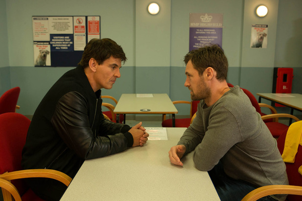 Corrie, Rob visits Robert, Thu 24 Dec