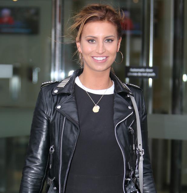 Ferne McCann outside the ITV Studio - 15 December 2015.